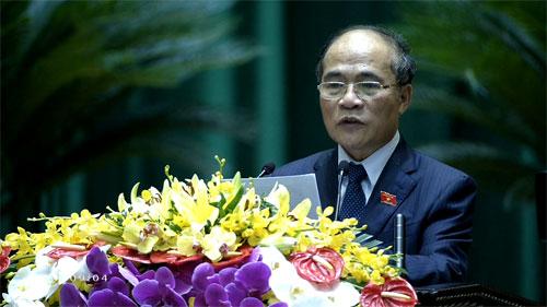 Chủ tịch Quốc hội: 'Chủ quyền biển đảo đang bị đe dọa nghiêm trọng'