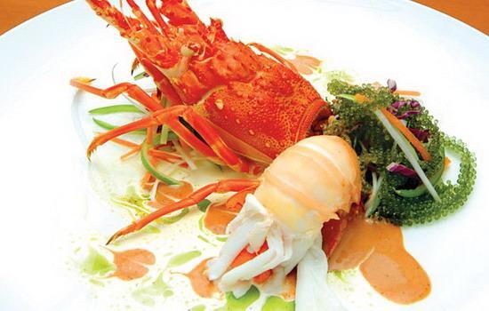 Tôm hùm - đặc sản biển