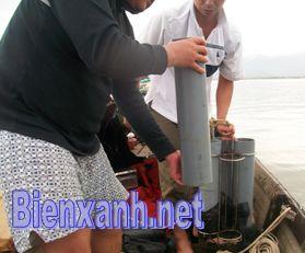 Hợp tác nghiên cứu biển với các nhà khoa học Pháp