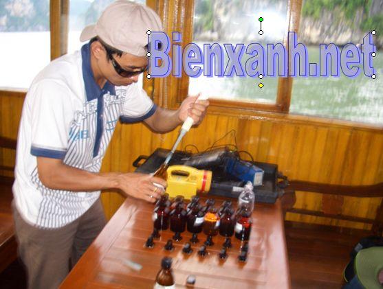 Sửa chữa -đào tạo sử dụng thiết bị môi trường