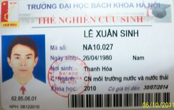 Quy trình nghiên cứu sinh ĐHBK -Hà Nội